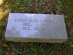Cassie Ruth Campbell