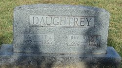 Harriet Jane <i>McLemore</i> Daughtrey