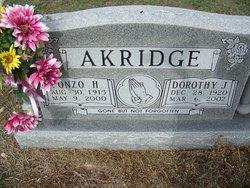 Lonzo Howard Akridge
