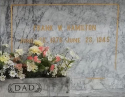 Frank Wayne Hamilton, Sr