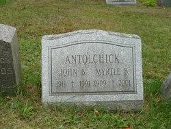 Myrtle <i>Bevans</i> Antolchick
