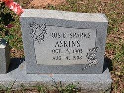 Rosie <i>Sparks</i> Askins