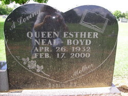 Queen Esther <i>Neal</i> Boyd