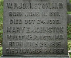 Mary Elizabeth <i>Hooe</i> Johnston