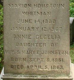 Marion Houston <i>Johnston</i> Whitman