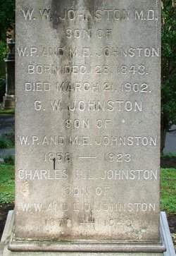 Dr William Waring Johnston, Sr