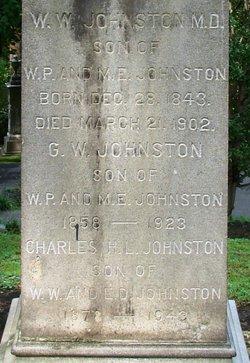 George Woodruff Johnston