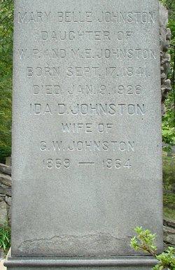 Mrs Ida Johnston