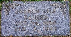 Gordon Lyle Baines