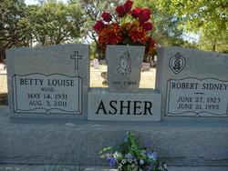 Betty Louise <i>Wood</i> Asher