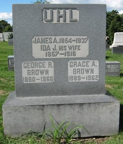 Grace A <i>Uhl</i> Brown
