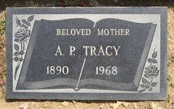 Adeline Patty Nan <i>VanOrder</i> Tracy