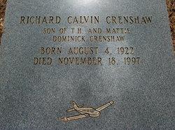 Richard Calvin Mac Crenshaw