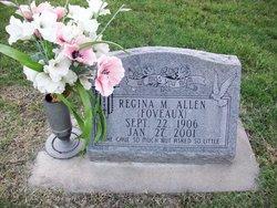 Regina Margaret <i>Foveaux</i> Allen