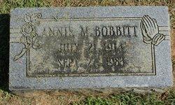 Annie M. Bobbitt