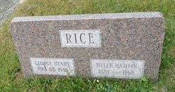 George Henry Rice