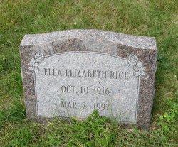 Ella Elizabeth Rice
