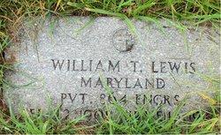 William T Lewis