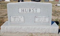Henrietta Dot <i>Unterseher</i> Hurst