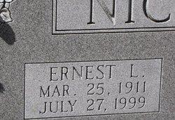 Ernest Lee Nichols