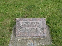 Ida <i>Johanson</i> Anderson