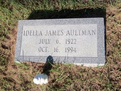 Idella <i>James</i> Aultman