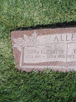 Mary Elizabeth <i>Graham</i> Allen