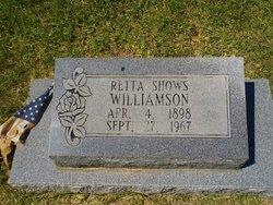 Retta <i>Shows</i> Williamson