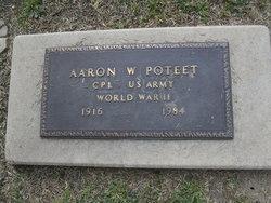 Corp Aaron W Poteet