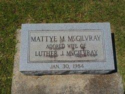 Mattye <i>Melvin</i> McGilvray