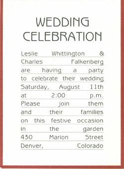 Leslie Ann <i>Whittington</i> Falkenberg