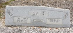 Lorry Nevin Cain