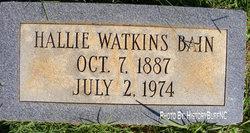 Hallie Mae <i>Watkins</i> Bain