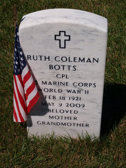 Ruth <i>Coleman</i> Botts
