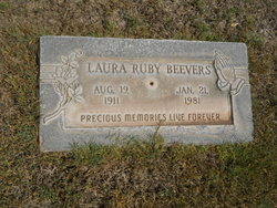 Laura Ruby <i>Conner</i> Beevers