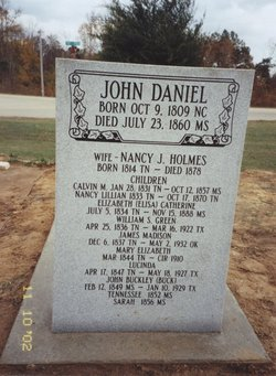 John Buckley Daniel, Sr
