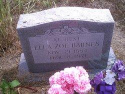 Ella Zoe <i>Fields</i> Barnes