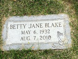 Betty Jane <i>Redus</i> Blake