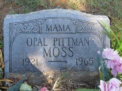 Opal <i>Pittman</i> Moss