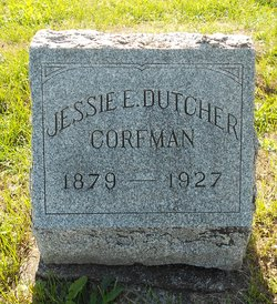 Jessie Ellen <i>Dutcher</i> Corfman