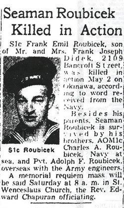 Frank E Roubicek