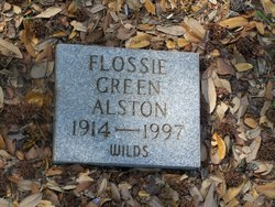 Flossie <i>Green</i> Alston