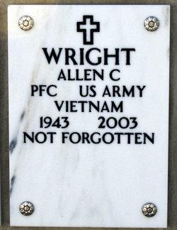 PFC Allen C Wright