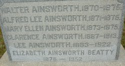 Alfred Lee Ainsworth