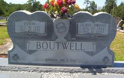 Doris Pearl <i>Owens</i> Boutwell