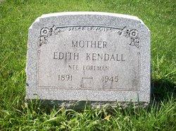 Edith <i>Foreman</i> Kendall