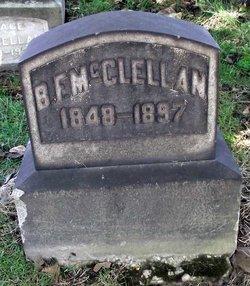 Benjamin F Mcclellan