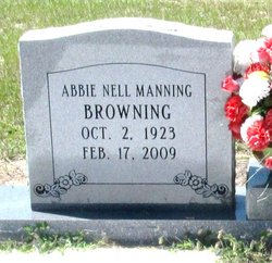 Abbie Nell <i>Clements</i> Browning