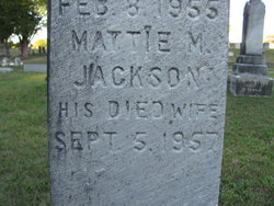 Martha M Mattie <i>Jackson</i> Barber