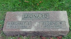 Margaret Elizabeth Maggie <i>McComb</i> Leonard